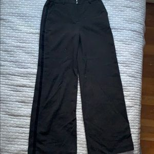3/$30 Beautiful Boden pants 2P with velvet stripe